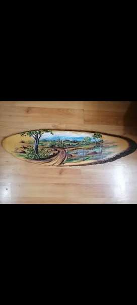 Painted on wood, in very condition, @ R250