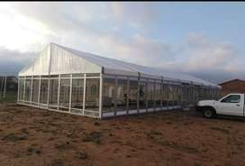 Frame tents and waterproof Stretch tents on sale