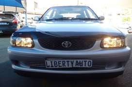 Cheapest 2003 Toyota TAZZ 1600 XE Hatch Back Manual Transmission