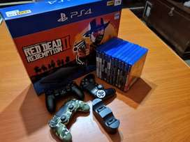 Playstation 4 slim 1TB+ extras