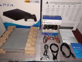 PS4 1TB + 11 Full Games + Brand New DS4 Control