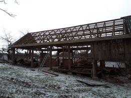 Skup desek starego drewna rozbiorki stodół