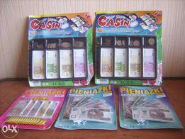 Pieniążki edukacyjne - zabawka OKAZJA !!!