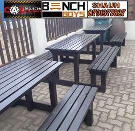 Braai and pub benches