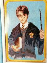 Картина вышивка крестом Гарри Поттер,сувенир, подарок,декор в детскую