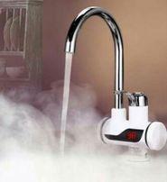 Проточный водонагреватель Delimano с экраном с душем экономнее бойлера