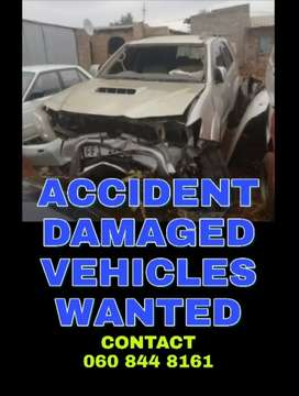 Accident Damaged Vehicles Wanted in Cape Town