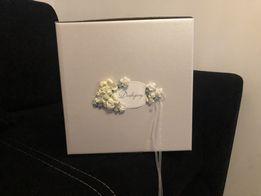 Składane pudełko na koperty ślubne