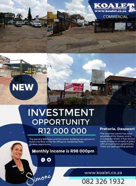 Retail block for sale