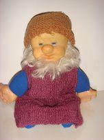 Мягкая игрушка родом из СССР Гномик Мишка олимпийский.