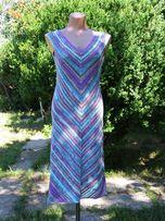 Вязаное платье, платье