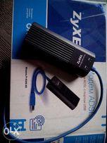 Продам ADSL модем ZyXEL 630s EE с портом USB