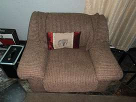 2 seater and 1 seater couches