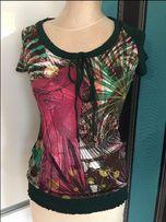 DESIGUAL moda bluzka roz. S