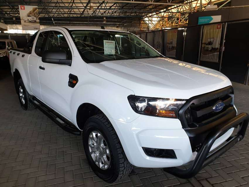 ^2018 Ford Ranger 2.2TDCI Automatic Supercab-Only 80800km- 0