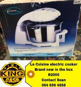 Le cuisine electric cooker