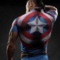 Koszulka Termoaktywna Rashguard AVENGERS Captain America roz. M