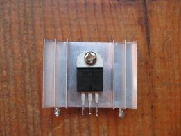 BTA16 Симистор 16А 600В + радиатор