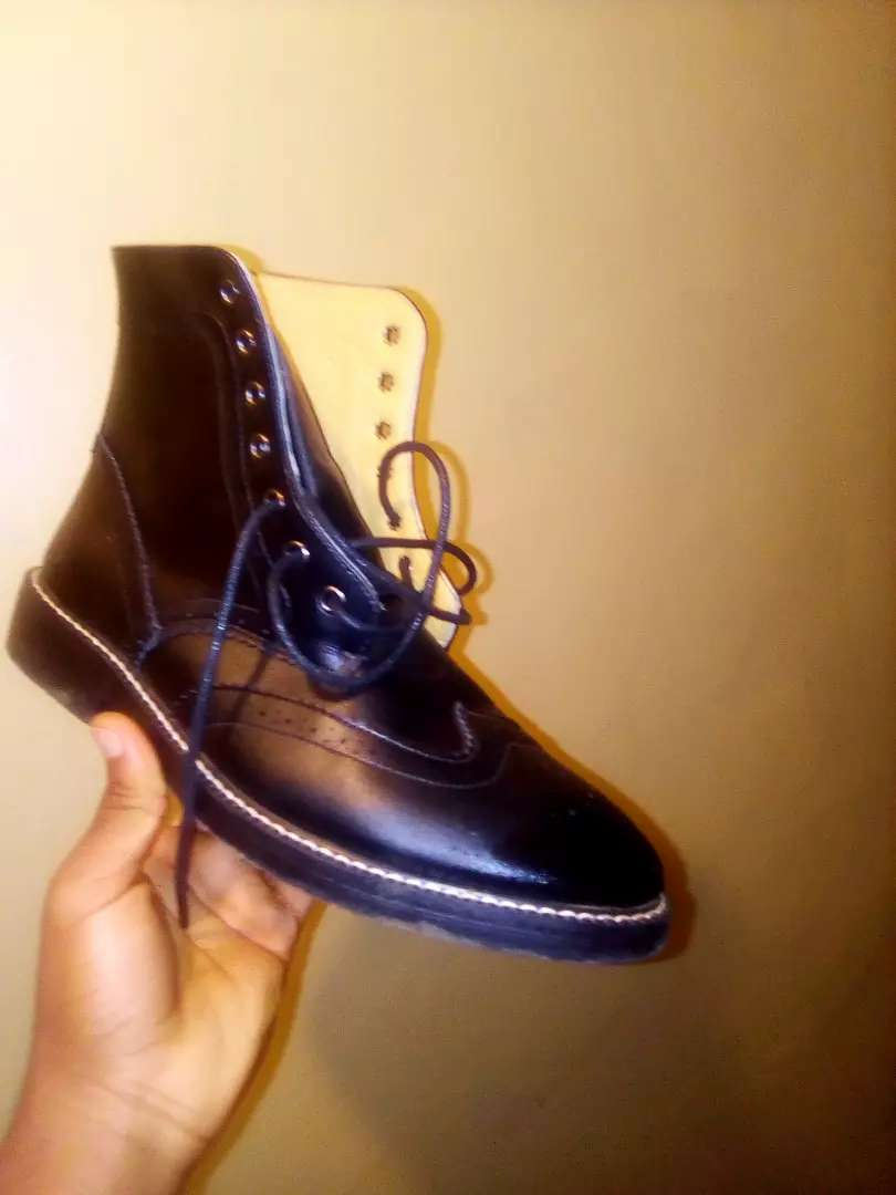 Shoes leather 0