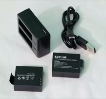 Podwójna ładowarka usb do akumulatorów SJCAM