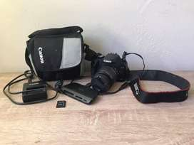 Canon EOS 500D with accesssories