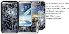 Repairs to all makes and models cell phones