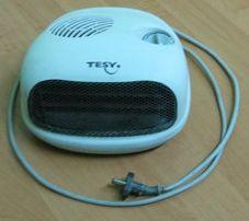 500р. Тепловентилятор Tesy, 2000Вт, регулятор хол./теплого/гор.