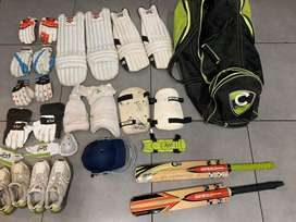 Cricket kit with extras