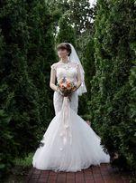 Свадебное платье. Эксклюзив. Италия. + фата в подарок