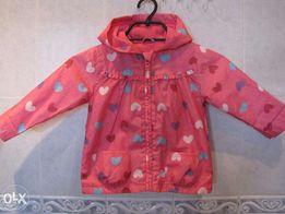 Куртка (ветровка)для девочки 92р