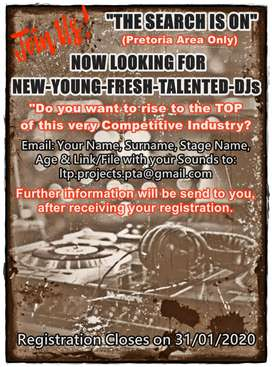 Are you a new, young, talented DJ?