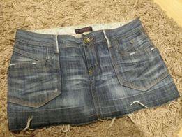 Spódniczka jeansowa, 40