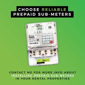 Electrical submeters & paving