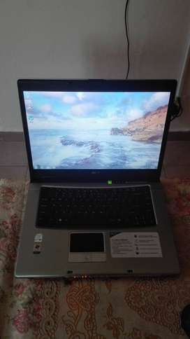Acer laptop well taken care off