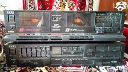 Кассетный магнитофон и усилитель AKAI