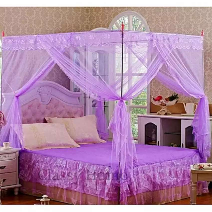 Flat topped mosquito net 0