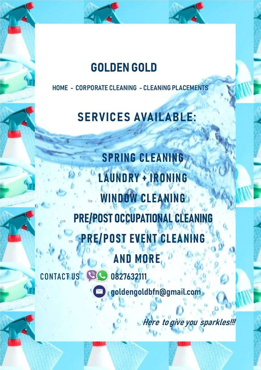 Corporate Cleaning, Home Cleaning and Cleaning Placements. 0
