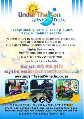 Creche services table view