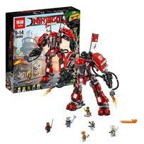 Конструктор Ninjago Огненный робот Кая 1010 дет.