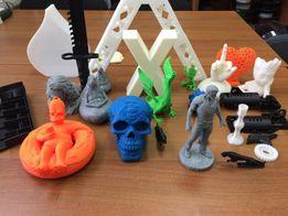 3d печать на 3д принтере, изделия из пластика, Украина
