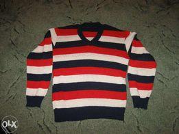 Для школьника, детский пуловер ,свитер