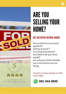 We buy houses for cash in any condition(offer within 48hrs))