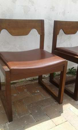 Two Vintage chairs in a good condition.for both!cash on collect!