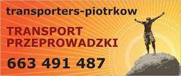 Przeprowadzki Transport PRZEPROWADZKA Pianino Sejf Fortepian MONTAŻ