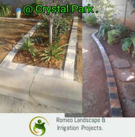 Landscaping and irrigation