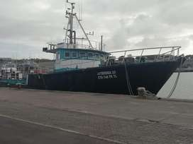24 meters fishing boat with a cat 3408 engine