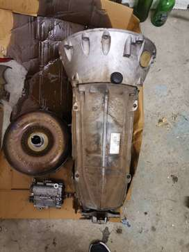 Gearbox and torque converter for spares