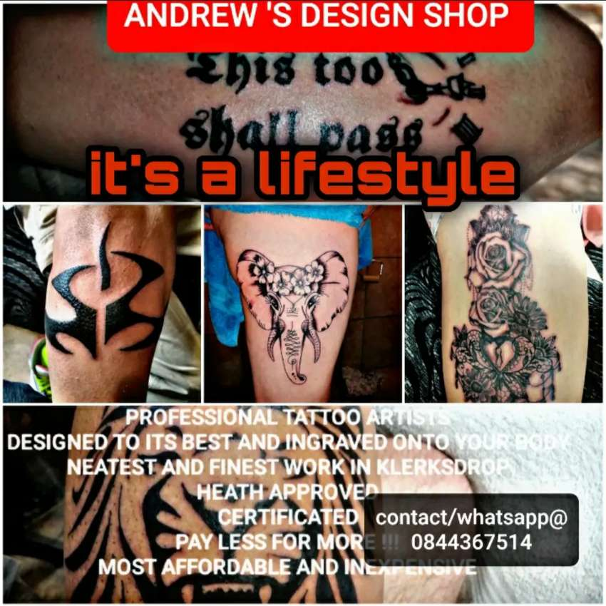 ANDREW'S DESIGN TATTOO SHOP 0