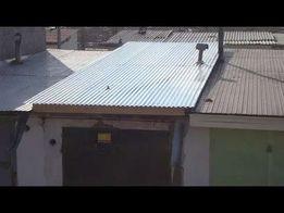 Ремонт кровли(крыши) гаража,киоска профлистом..