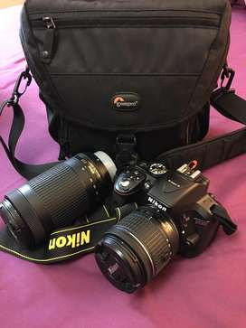 Nikon D5300 including lenses